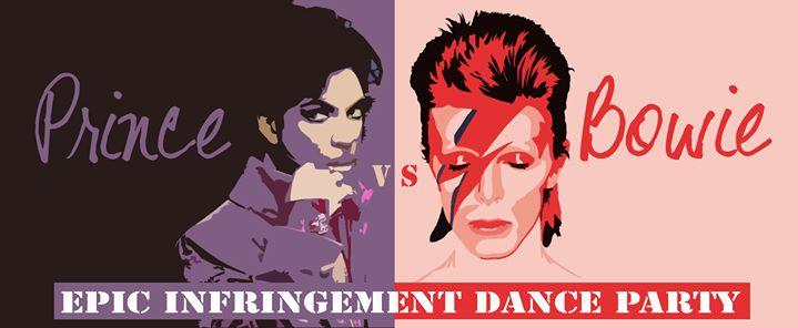 Prince vs. David Bowie Infringement Dance Party 8/4/2016 12:00:00 AM