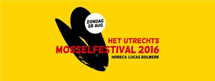 Het Utrechts Mosselfestival 2016 8/28/2016 2:00:00 PM