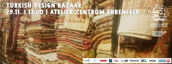 Turkish Design Bazaar 11/29/2015 1:00:00 PM