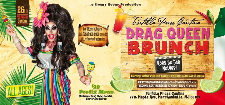Drag Queen Brunch goes to the Movies! 2/26/2017 11:00:00 AM