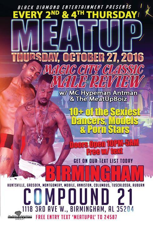 MeatUp Boiz Male Review Party 10/27/2016 10:00:00 PM