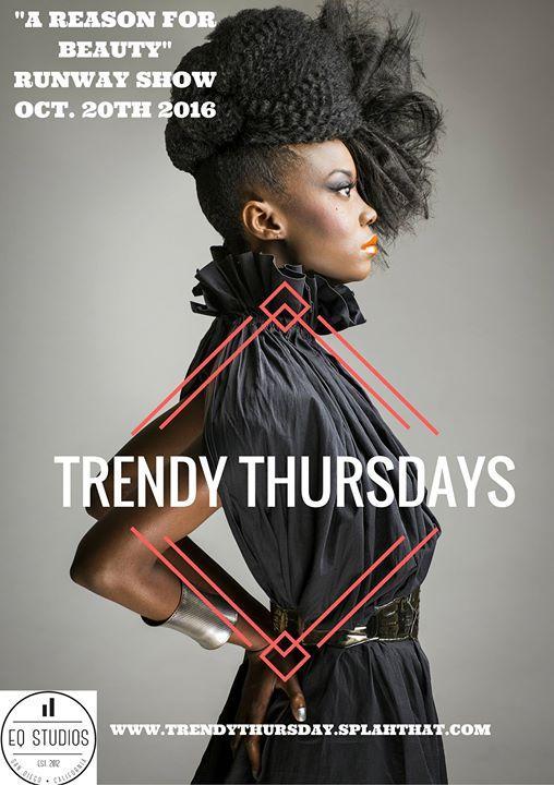 "Trendy Thursdays ""A Reason for Beauty"" 1/19/2017 7:00:00 PM"