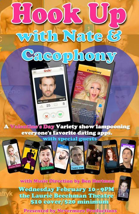 HOOK UP with Nate & Cacophony! 2/10/2016 9:00:00 PM