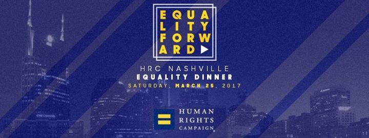 2017 HRC Nashville Equality Dinner 3/25/2017 5:30:00 PM