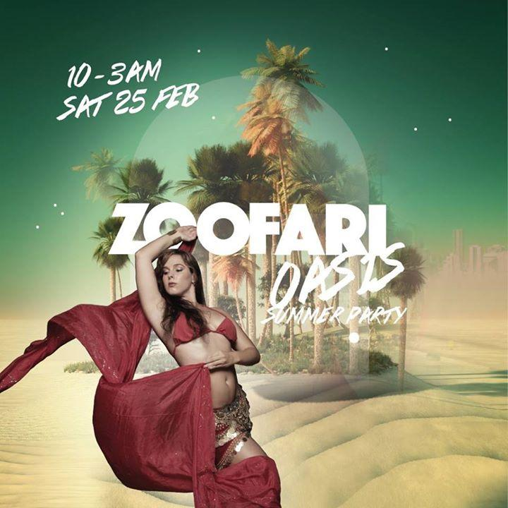 Zoofari : Oasis Summer Party 2/25/2017 10:00:00 PM