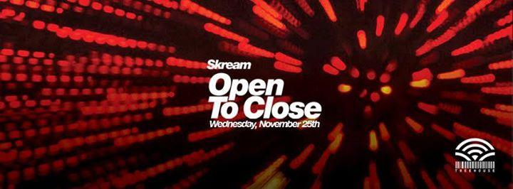 SKREAM [Open to Close] 11/25/2015 11:00:00 PM