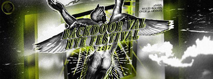 Backdoor VAL NYE Festival 12/30/2017 12:00:00 AM