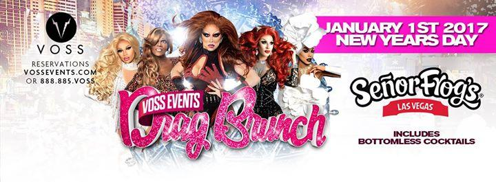 Drag Brunch ✯ Las Vegas ✯ New Years Weekend 12/31/2017 12:00:00 AM