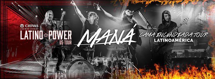 MANA: Latino Power TOUR 2016 12/29/2016 8:00:00 PM