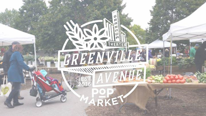 Greenville Avenue POP Farmer's Market | 9.25 9/25/2016 10:00:00 AM
