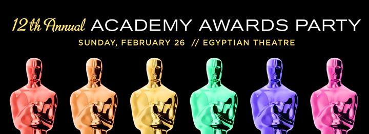 12th Annual Academy Awards Party with Gay City 2/26/2017 4:00:00 PM