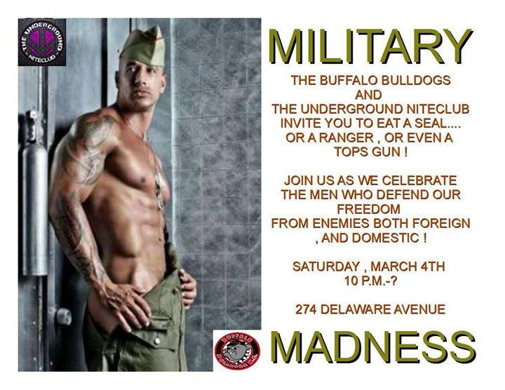 Military Madness! 3/4/2017 10:00:00 PM