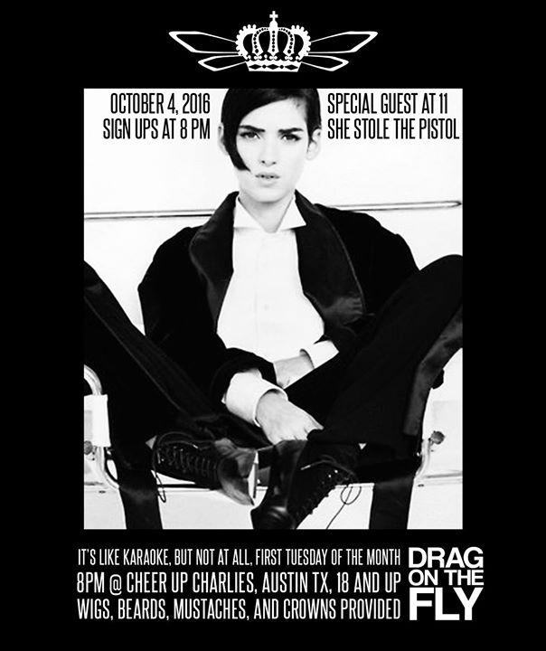 Tomboy Tuesday's Drag On The Fly 10/4/2016 8:00:00 PM
