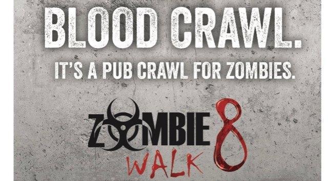 Discount Ride Zombie Blood (Pub) Crawl 10/29/2016 9:00:00 PM