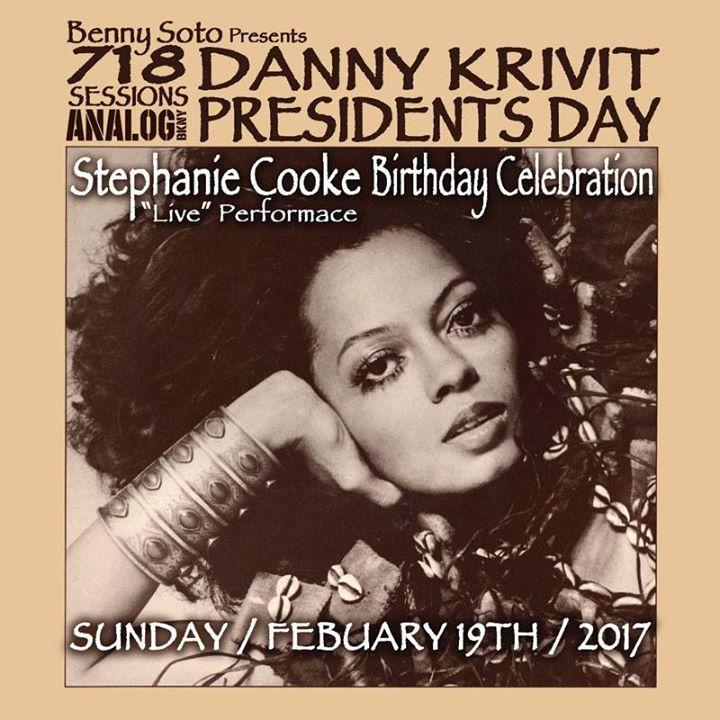 Sunday, February 19th! 718 Sessions Presidents Day Celebration! 2/19/2017 6:00:00 PM