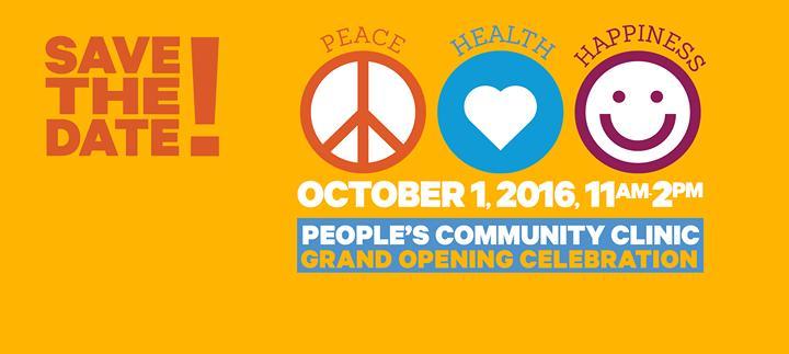 Grand Opening Celebration 10/1/2016 11:00:00 AM