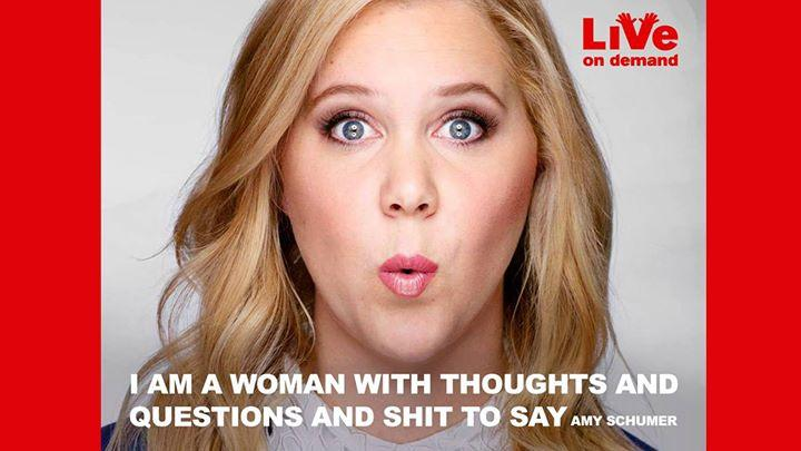 Amy Schumer in Amsterdam! 7/1/2016 8:00:00 PM