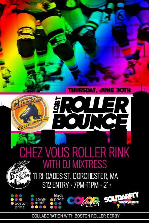 LGBT Roller Bounce 6/30/2016 7:00:00 PM