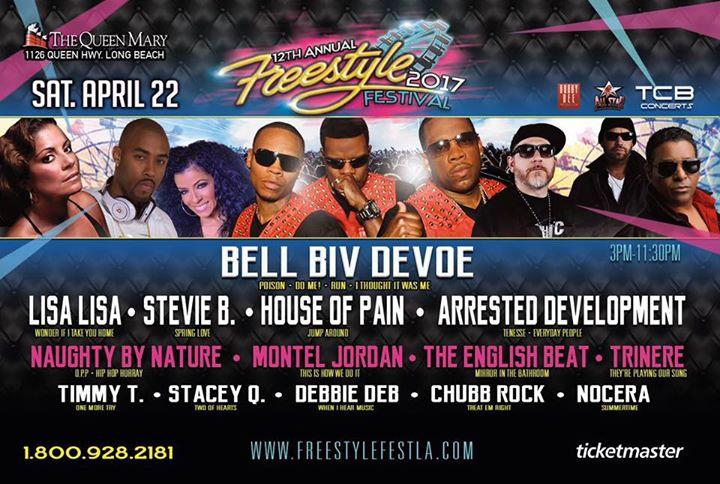 12th Annual Freestyle Festival 2017 4/22/2017 1:00:00 PM