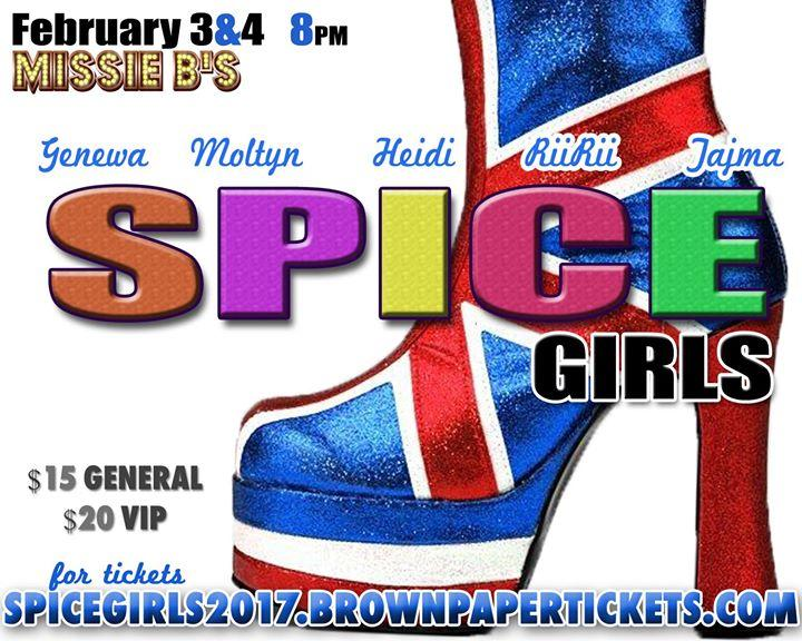 The Return of the Spice Girls 2/3/2017 12:00:00 AM