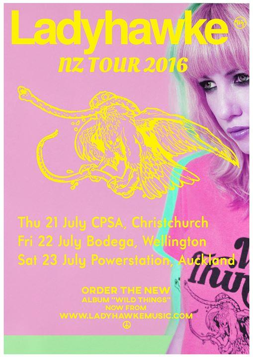 Ladyhawke at CPSA, Christchurch 7/21/2016 8:30:00 PM