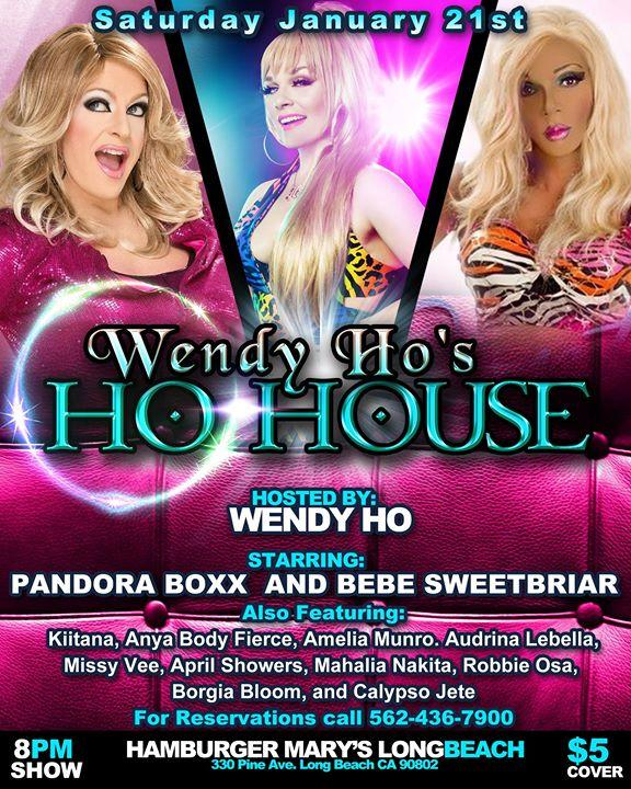 HoHouse Long Beach Jan 21st with Pandora Boxx & Bebe Sweetbriar 1/21/2017 8:00:00 PM