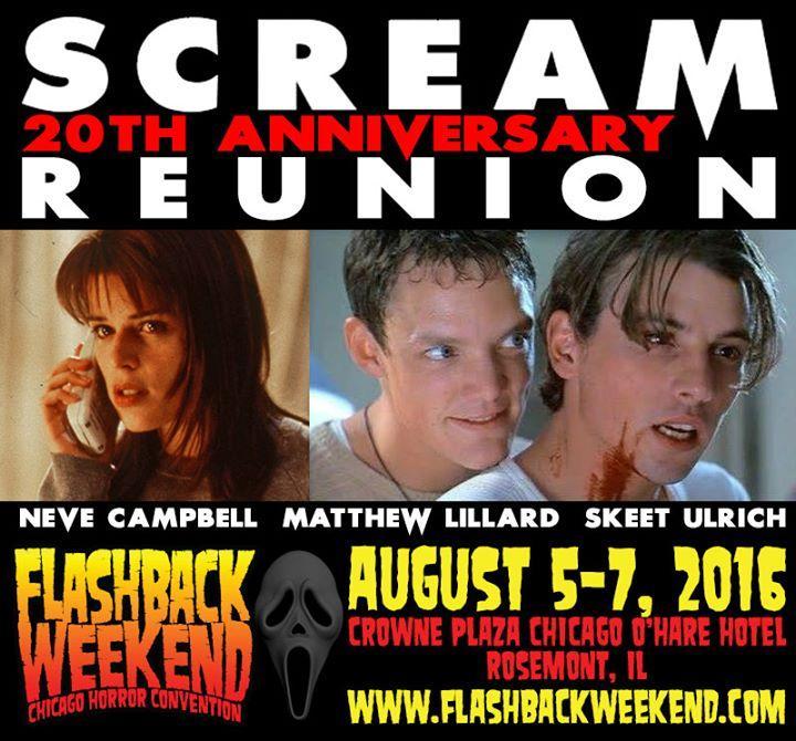 Flashback Weekend Chicago Horror Convention 8/5/2016 12:00:00 AM