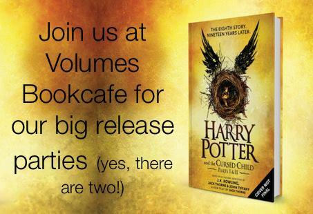 Harry Potter & The Cursed Child Release Parties @Volumes 7/30/2016 12:00:00 AM