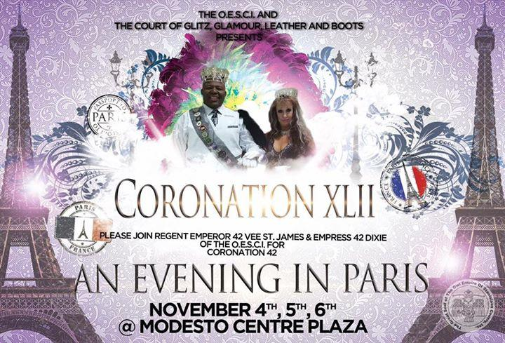 Coronation XXLII An Evening in Paris 11/4/2016 12:00:00 AM