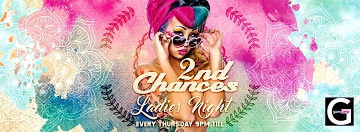 2nd Chances Ladies' Night 1/19/2017 9:00:00 PM