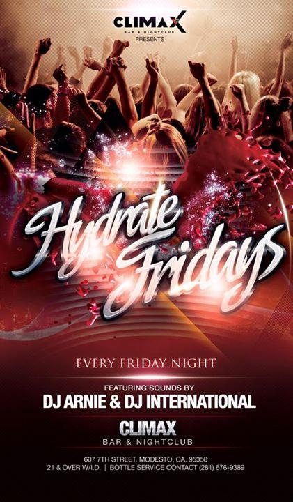 """Hydrate """"Dooms-Day"""" No Cover Party 1/20/2017 9:00:00 PM"""