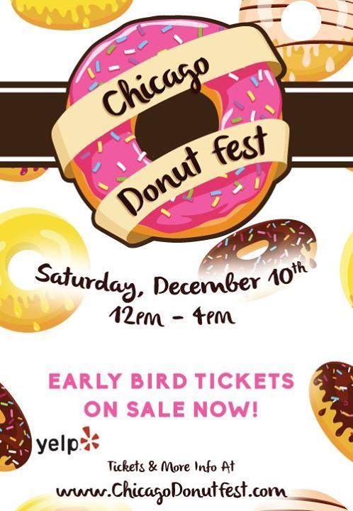 Chicago Donut Fest 12/10/2016 12:00:00 PM