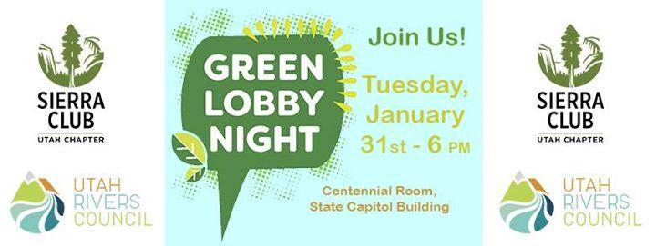 Green Lobby Night 1/31/2017 6:00:00 PM