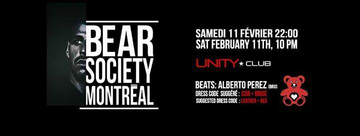 Bear Society Montréal-Bear Love 2/11/2017 10:00:00 PM