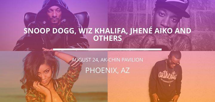 Snoop Dogg in Phoenix 8/24/2016 7:00:00 PM