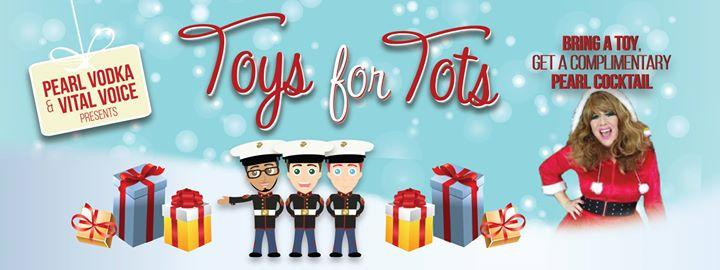 Pearl Vodka Presents 3rd Annual Toys For Tots Drive 12/8/2016 7:00:00 PM
