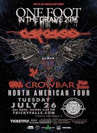 Carcass at Tricky Falls 7/26/2016 6:00:00 PM