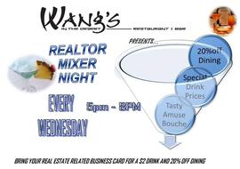 Wednesday Realtor Mixer 9/28/2016 5:00:00 PM