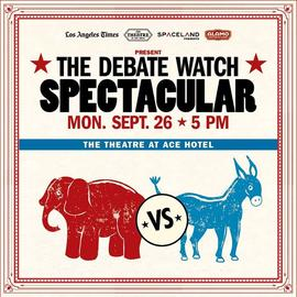 The Debate Watch Spectacular 9/26/2016 5:00:00 PM