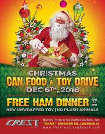 Holiday Dinner 12/6/2016 4:00:00 PM