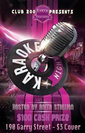 Karaoke Night - W30 7/28/2016 4:00:00 PM