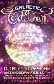 TONIGHT!!! Gem Show Galactic Get-Down! 2/10/2016 11:00:00 PM