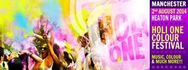HOLI ONE Colour Festival Manchester 6/1/2016 12:00:00 AM